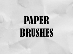 Brushes Paper