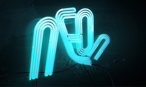 How to Make 3D Neon Light Typography
