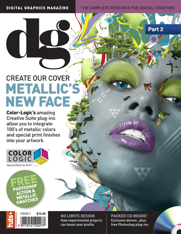 Color-Logic to Create a Magazine Cover Part 2