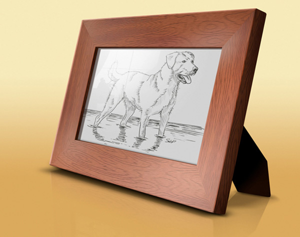 Create a Realistic Picture Frame using Photoshop