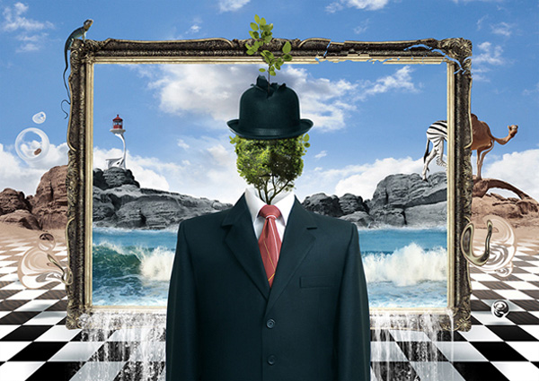 Create a Surrealist Inspired Masterpiece