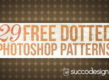 Photoshop Dotted Patterns