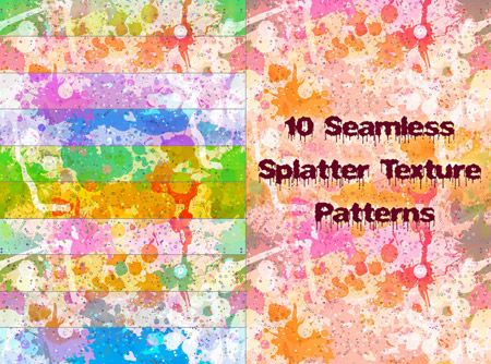 Photoshop Splatter Patterns