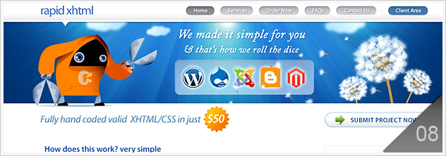 27 PSD to HTML Conversion Service
