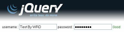 jQuery Password Meter Plugin