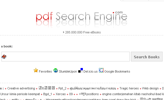 PDF Search Engine