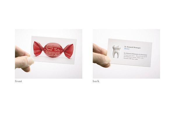 dual sided biz card aotw 30 Creative Restaurant Business Card