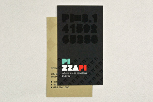 pizzapi 30 Creative Restaurant Business Card