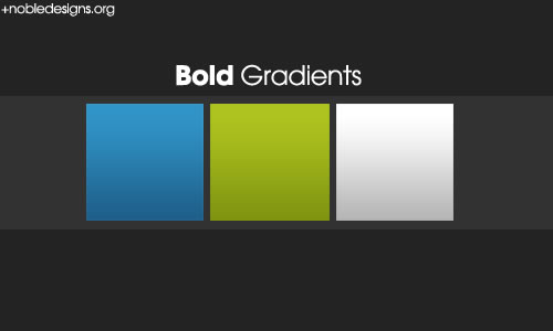 Bold Gradient Pack - 3 Gradients
