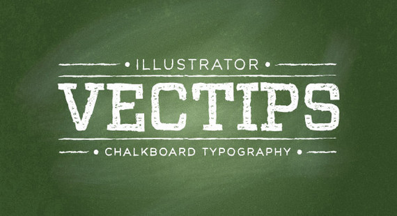 Create a Chalkboard Type Treatment