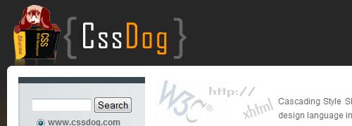 CSSDog - screen shot.