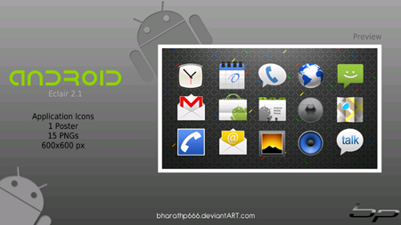 AndroidApplicationIconsSet 400+ Best Android Icons