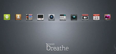 Android Breathe Icon Set