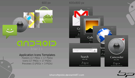 Android Icon Templates