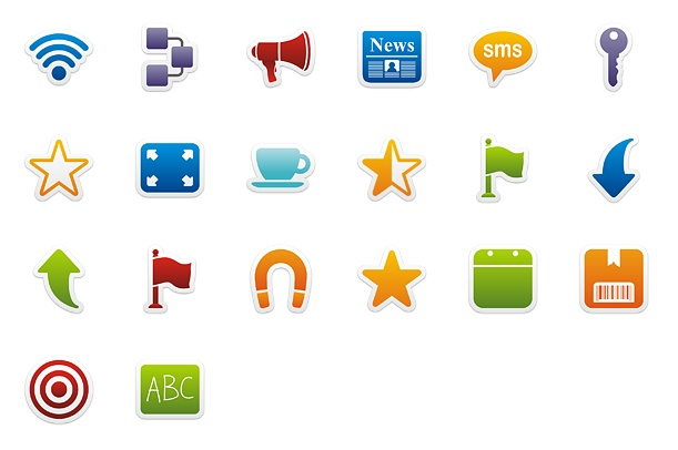 Colorful Stickers 400+ Best Android Icons