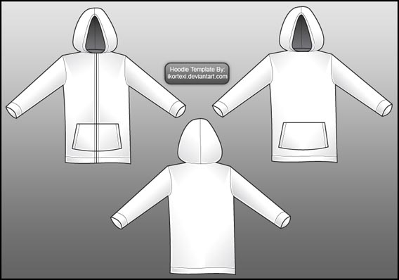 Download Free Hoodie Template