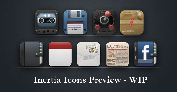 Inertia 400+ Best Android Icons