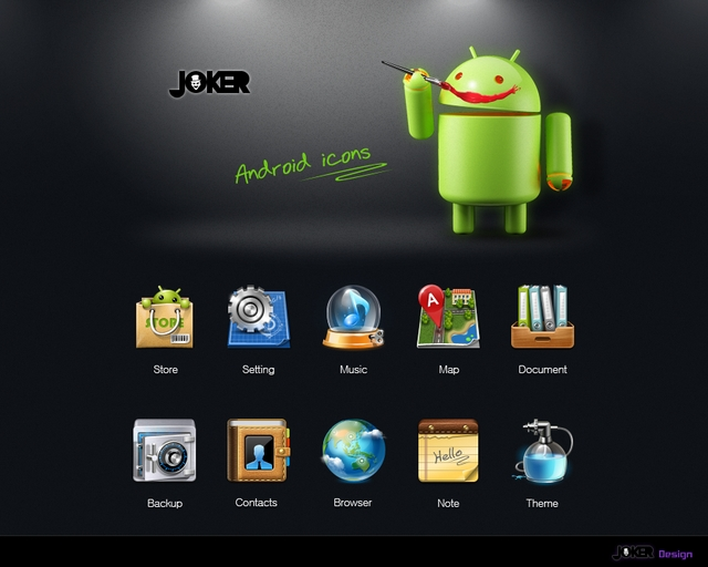 Joker 400+ Best Android Icons