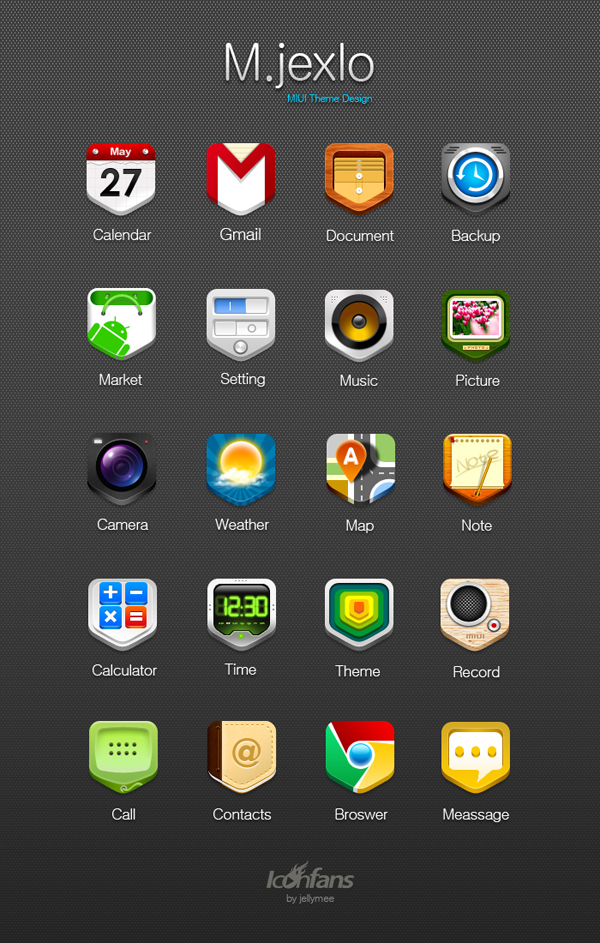 M.Jexlo  400+ Best Android Icons