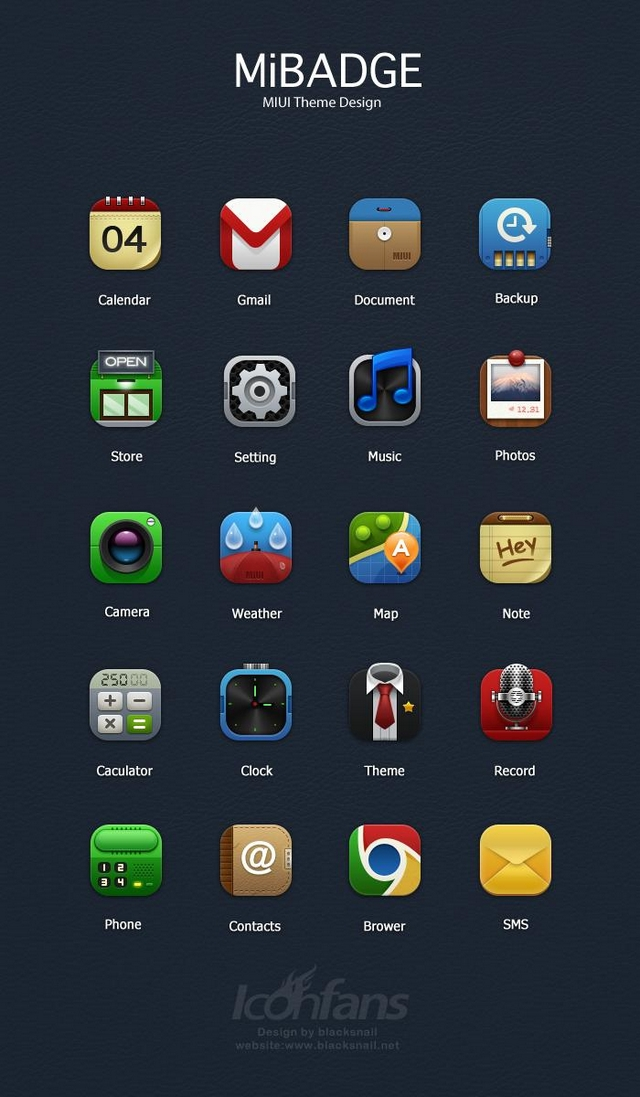 MiBadge 400+ Best Android Icons