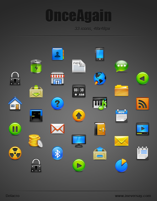 Once Again 400+ Best Android Icons