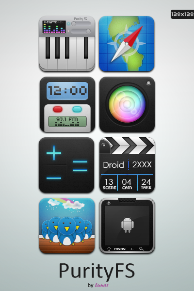 PurityFS HD 400+ Best Android Icons
