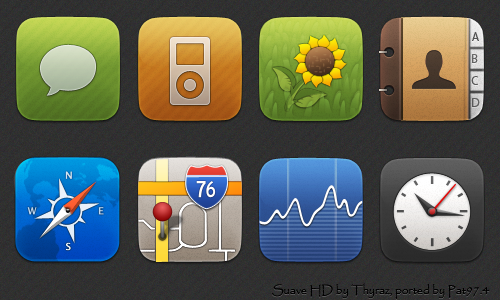 Suave HD 400+ Best Android Icons