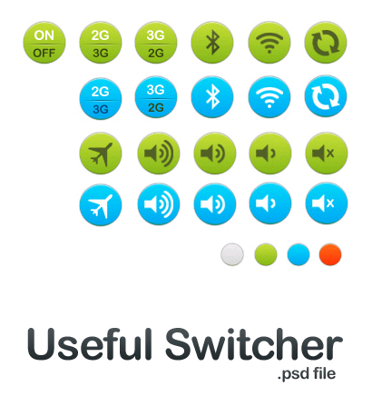Switcher Icon Set