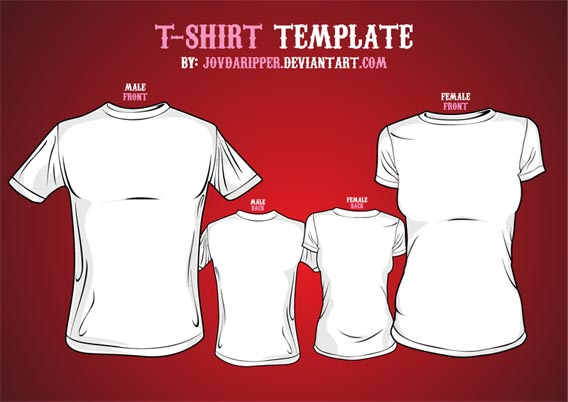 T-shirt Vector Free Download Download Free Vector T-shirt