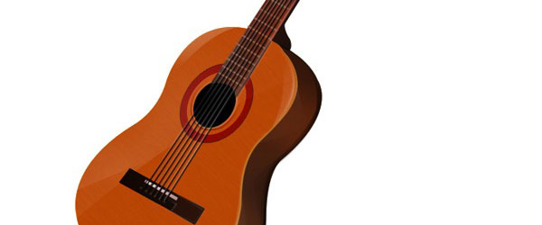 Create a Beautiful Guitar Icon Photoshop Tutorial