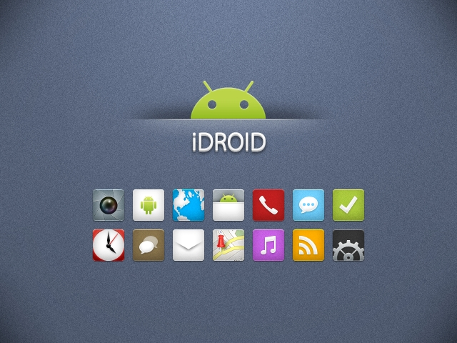 iDroid 400+ Best Android Icons