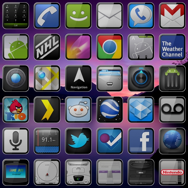 iPhonious 400+ Best Android Icons