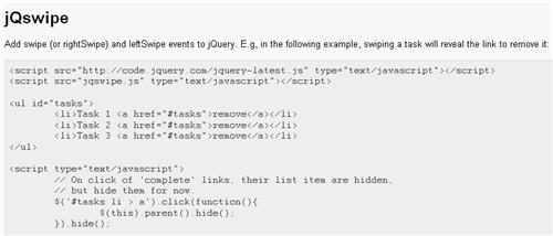 best jquery mobile tutorials  u2013 design freebies