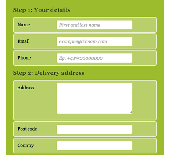 17 Best Html Contact Form – Design Freebies