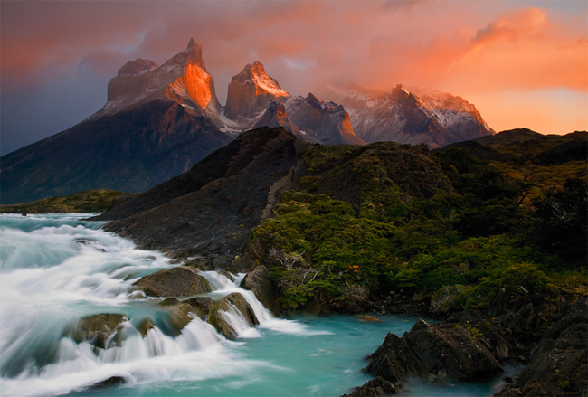 Los Cuernos del Paine wonderland wallpaper