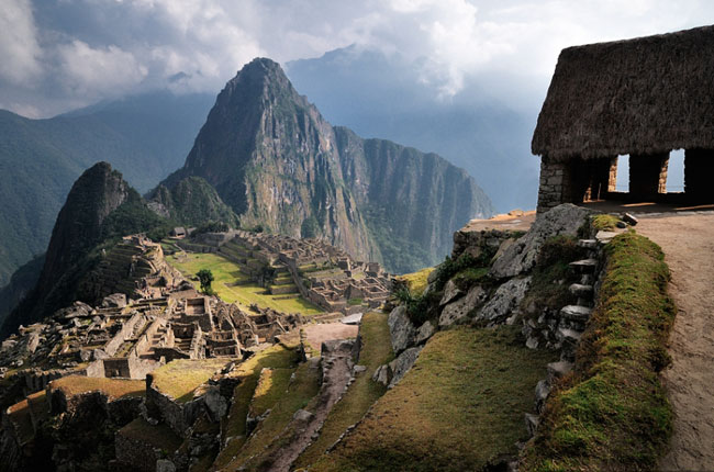 The Machu Picchu Guard Tower wonderland wallpaper