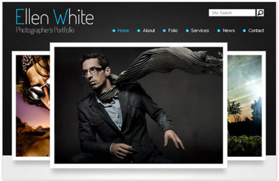 beautifulhtml17 30+ Fresh and Free HTML5 and CSS3 Templates