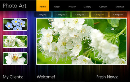 beautifulhtml25 30+ Fresh and Free HTML5 and CSS3 Templates