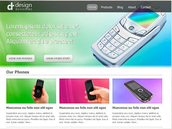 beautifulhtml6 30+ Fresh and Free HTML5 and CSS3 Templates