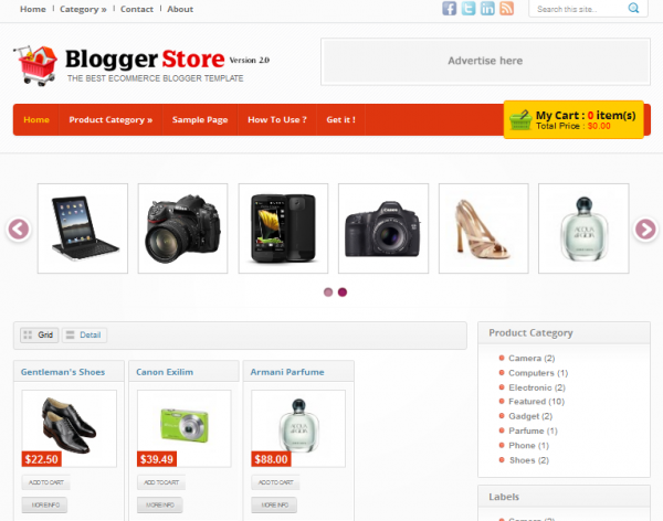 best free blogger shopping cart design freebies With shopping cart template for blogger