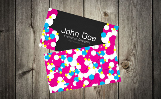 creating colorful vibrant business card print design tutoria 20+ Business Card & Brochure Designs Tutorials
