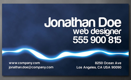 how to create ready standard size business cards print desig 35 Great Print Ready Designs Tutorials