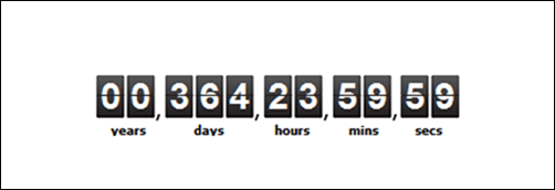 jQuery Countdown with Background and Overlay