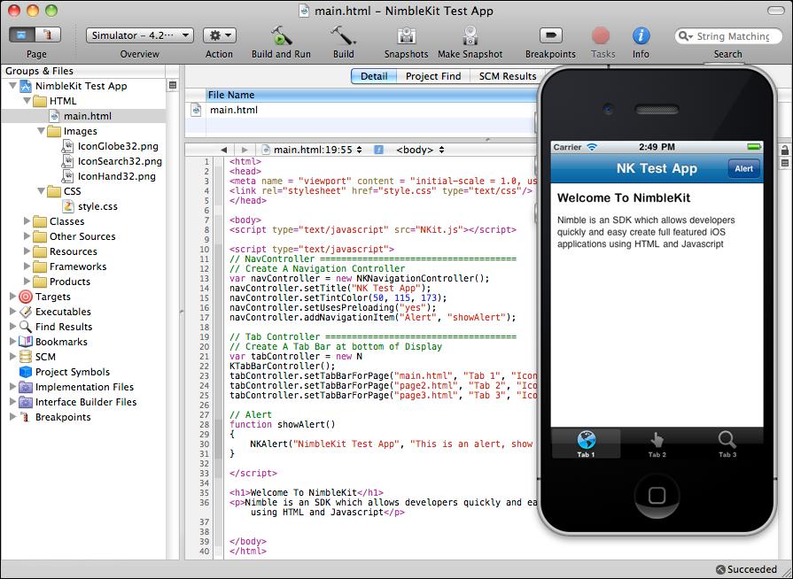 VideoStream SDK for iOS - Objective-C - iPad - iPhone - UIKit ...