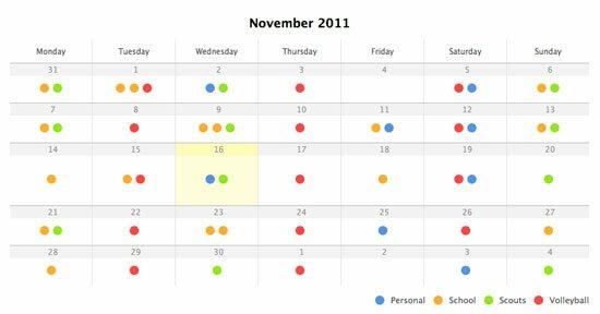 Design Calendar Using Css : Useful html css tutorials design freebies
