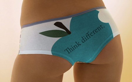 apple sexy lingerie - apple, technology, wallpaper