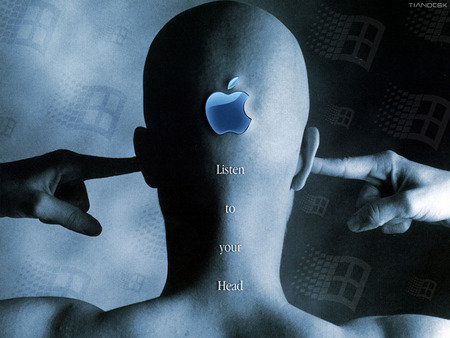 Apple - Listen To Your Head - Apple, head, Listen to your Head
