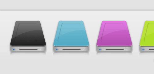Custom Hard Drive Icon - screen shot.