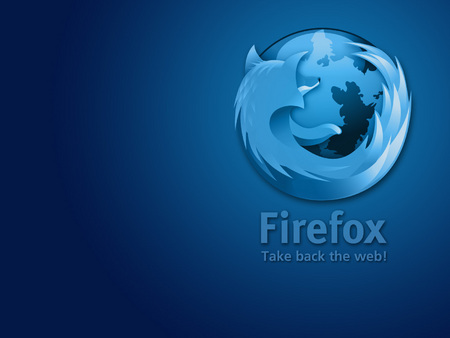 Blue Firefox - spread firefox, take back the web