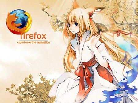OS-Tan FireFox - fan, firefox, firefox tan, fox, kimono, kitsune, os tan